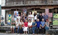 El uso del colorido mexicano a un monasterio serbio