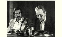 """Günter Grass y Juan Rulfo, """"mano a mano"""" en Berlín"""