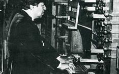 Murió el organista Felipe Ramírez Ramírez.
