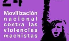 Primavera Violeta: Marchan miles de mujeres al Ángel en protesta contra la violencia de género