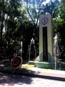 Reloj Armenio en el Parque México