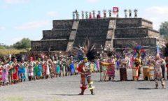 Teotihuacán y danzantes ceremoniales