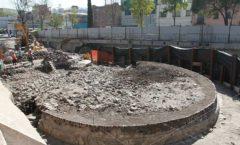 Reportan hallazgo de un templo prehispánico en Tlatelolco