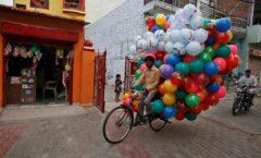 Ciudad que la vio nacer, hace 200 años... celebra a la bicicleta
