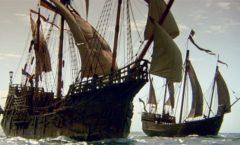 Colón se libró de la temporada de huracanes por pararse a arreglar la Pinta