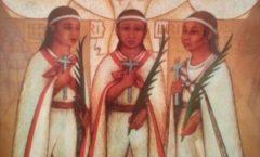 Los niños mártires de Tlaxcala