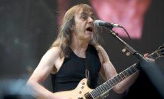 Muere el cofundador de AC/DC Malcolm Young a los 64 años