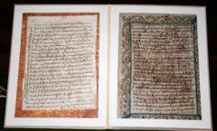 Halladas unas cartas manuscritas de Santa Teresa a su 'otro' amor