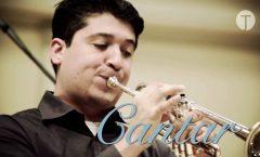 Pancho Flores, con 12 cornetas en Bellas Artes   Ciudad de México.