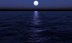 La tierra sin la luna pudiera no haber tenido vida