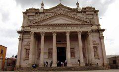 El magnífico templo parroquial en San José Iturbide