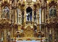 Un órgano, un coro, un templo, en la mina de La Valenciana