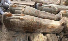 Treinta nuevos sarcófagos presenta Egipto al mundo
