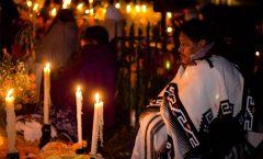 La fiesta a nuestros antepasados o día de muertos
