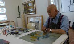 Gilberto Aceves Navarro pintor del expresionismo abstracto, muere a los 88 años