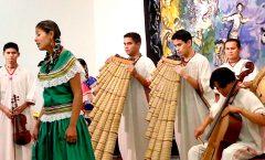 La música indígena tiene un lugar