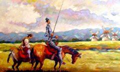 """""""El Quijote"""" y la conquista de México"""