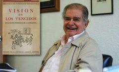 Queda huérfana la cultura originaria de México, muere su gran sabio: León Portilla