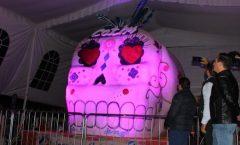 La calavera de azúcar mas grande del mundo