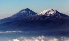 Dos volcanes con interrogantes:El Popocatepetl y El Iztaciuhuatl