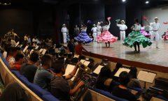 La banda Mixe con el ballet de Amalia Hernández