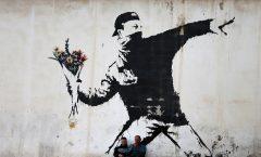 Banski y el encuentro de un mural en su natal Bristol