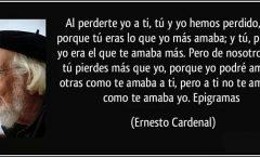 Un poema de Ernesto Cardenal