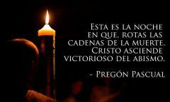 Pregón Pascual -  Alelluja, alelluja, alelluja