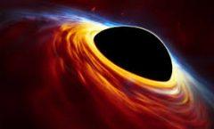 Mucha  materia en agujero negro