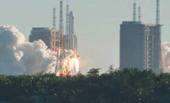 Lanza China nave espacial