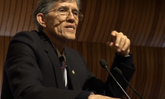 Antonio Lazcano a la Academia de Ciencias de Latinoamérica