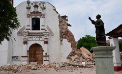 58 monumentos históricos y 4 zonas arqueólogicas en Oaxaca por terremoto