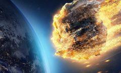 Un asteroide fue lo que extinguió a los dinosaurios en la tierra