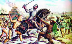La caída de la Gran Tenochtitlan