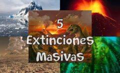 La tierra y sus extinciones