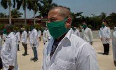 Se analiza propuesta del Nobel a médicos cubanos