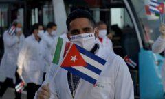 Piden premio Nobel de la paz a médicos cubanos