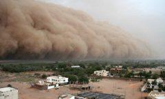 La arena del Sahara en el Golfo de México