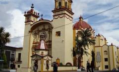 Incendio en el templo de La Santa Veracruz en ciudad de México