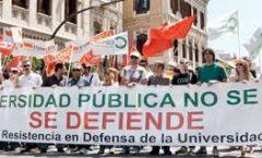 Las universidades  Publicas y presencial agonizan