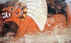 Cinabrio en murales tempranos en Teotihuacán