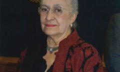 Elisa Vargas-Lugo Rangel; miembro de ciencias sociales,filosofía e historia