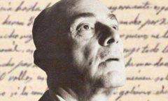 Poeta mexicano Carlos Pellicer