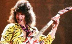 Eddie Van Halen del grupo Hard Rock