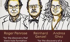 Nobel de física a científicos por hallazgos de los hoyos negros