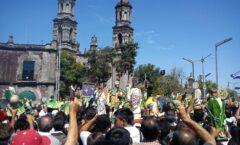 Templo de San Hipólito en La Ciudad de México