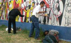 Con ¡¡¡Mátenlos en caliente!!!, Tepito Arte Acá recuerda los motivos de la Revolución