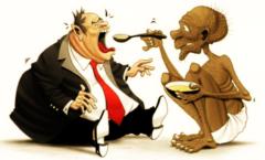 La brutalidad de la desigualdad social