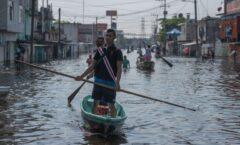 Deben estar enterados. Inundaciones en Tabasco