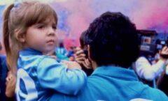 """""""Te voy amar para siempre"""":  Dalma Maradona"""